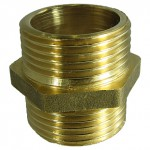 rmmcia - Contrarrosca Macho-Macho - Brass Hexagon Nipple M-M - rh310 -as168- sep2014