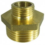 rmmcia - Contrarrosca reduccion Macho-Macho - Brass reducing Hexagon nipple M-M - rh310 -as168- sep2014